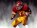 8 X 10 Marcus Allen USC Trojans Limited Edition Giclee Series #1