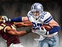 8 X 10 Jason Witten Dallas Cowboys Limited Edition Giclee Series #5